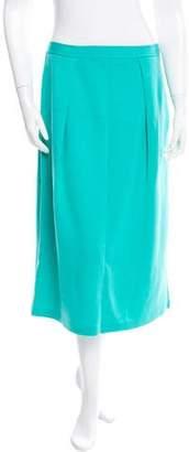 St. John Wool Midi Skirt w/ Tags