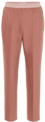 Agnona Wool and cashmere-blend pants