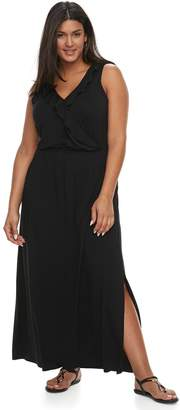 Apt. 9 Plus Size Ruffle Maxi Dress