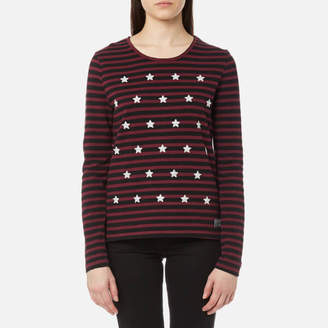 Superdry Women's Tansy Stripe Long Sleeve Top