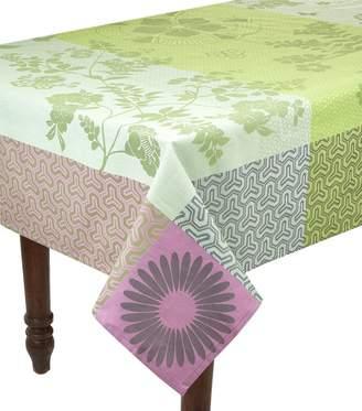 Le Jacquard Français Almond Floral Tablecloth (175cm x 175cm)