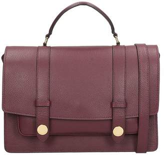 L'Autre Chose Burgundy Calf Leather Bag