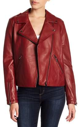 Bagatelle Leather Biker Jacket