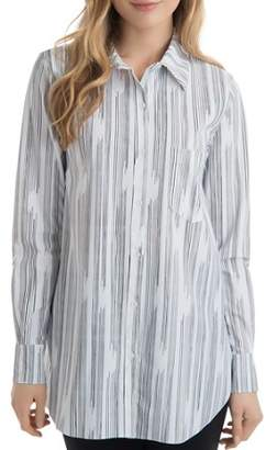 Lysse Schiffer Line-Print Tunic Top