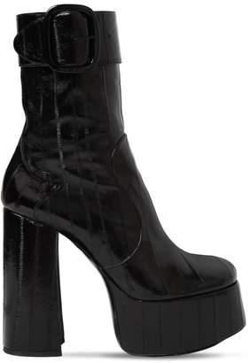 Saint Laurent 140mm Billy Eel Leather Boots