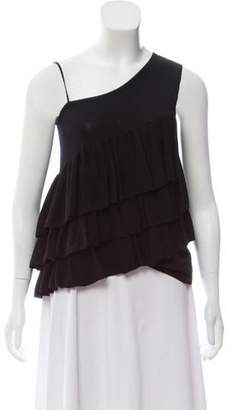 Co One-Shoulder Sleeveless Top w/ Tags
