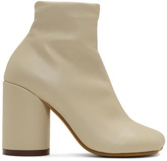 MM6 MAISON MARGIELA Beige Foot Boots