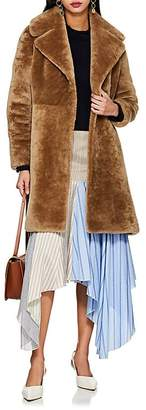 Barneys New York Women's Lamb Fur Coat
