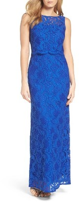 Women's Ellen Tracy Popover Column Gown $198 thestylecure.com