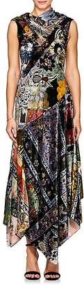 Erdem WOMEN'S REZA VELVET MAXI DRESS