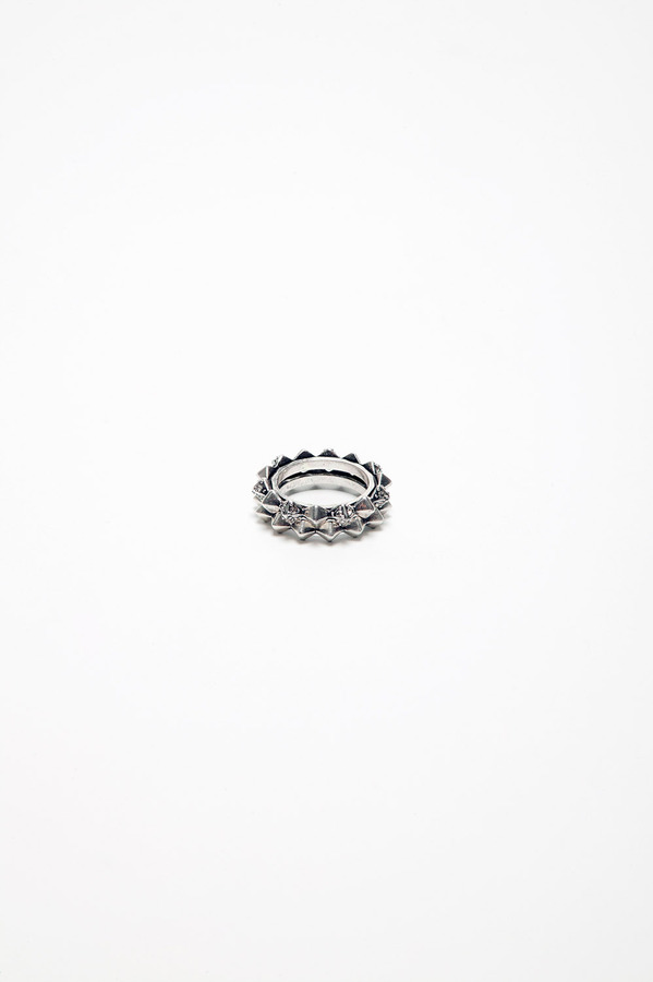 House Of Harlow Stack Ring White Gold