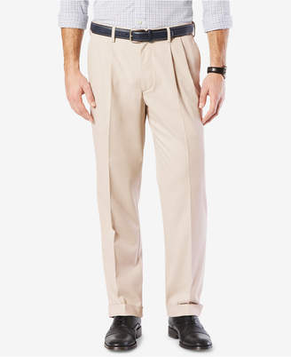 Dockers Comfort Classic Pleated Fit Stretch Pants