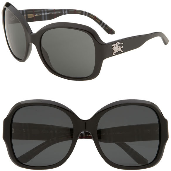 Burberry Oversized Round Sunglasses