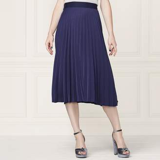 Lauren Conrad Runway Collection Pleated Midi Skirt - Women's