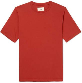Folk Washed-Cotton Jersey T-Shirt