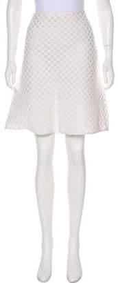 Tory Burch Lattice Flare Skirt