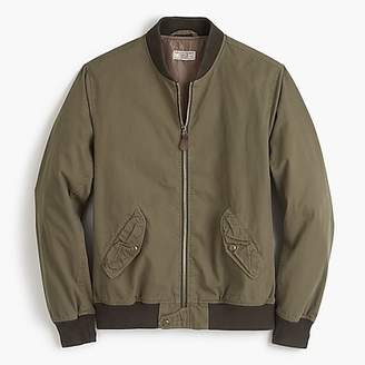 J.Crew Wallace & Barnes garment-dyed cotton MA-1 bomber jacket