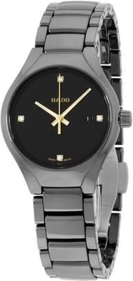 Rado Women's TRUE 30mm Ceramic Band & Case S. Sapphire Quartz Analog Watch R27059712