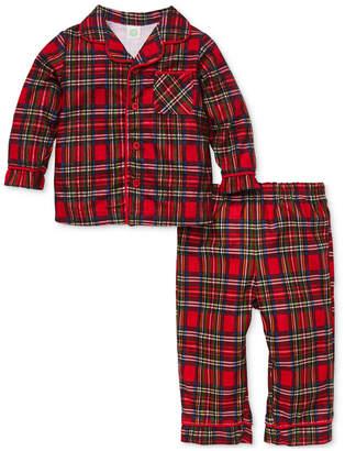 Little Me Baby Boys 2-Pc. Plaid Pajama Set