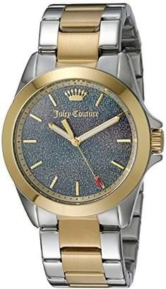 Juicy Couture Women's 1901286 Malibu Analog Display Quartz Two Tone Watch