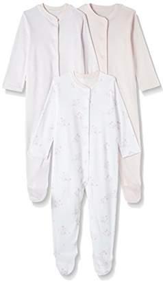 Mothercare Baby Girls' 3 Pack Pyjama Sets,(Manufacturer Size:50 cm)