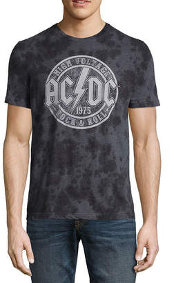 Novelty T-Shirts ACDC Wash Graphic Tee