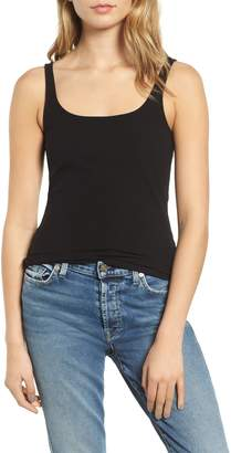 7 For All Mankind Rib Knit Tank Top
