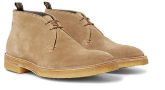 Dunhill Suede Chukka Boots - Beige