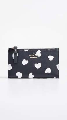 Kate Spade Cameron Street Hearts Mikey Wallet