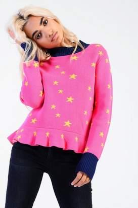 Glamorous **Star Knitted Jumper