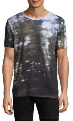 HUGO BOSS Wool Graphic Tee