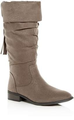 Steve Madden Girls' JPerri Slouch Boots, Little Kid, Big Kid - 100% Exclusive
