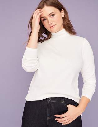 Long-Sleeve Turtleneck Tee