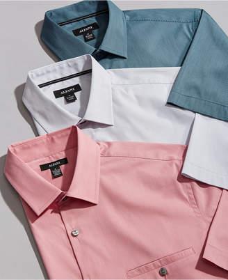 Alfani Men Stretch Modern Stripe Pocket Shirt