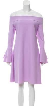 Chiara Boni Neoprene Mini Dress