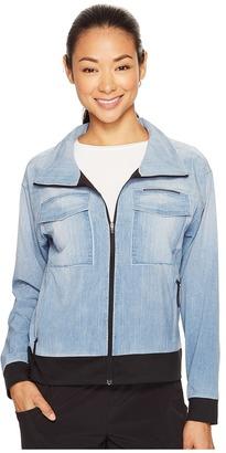 Lucy - Indigo Trucker Jacket Women's Coat $148 thestylecure.com