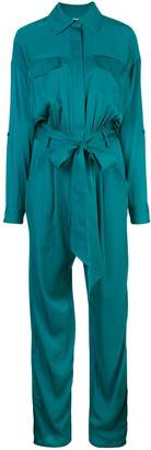 Milly belted waist jumpsuit