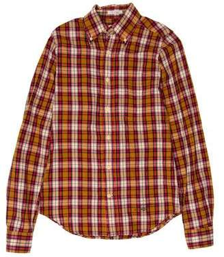 Gant Plaid Button-Up Shirt