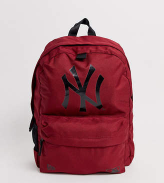 New Era NY berry backpack