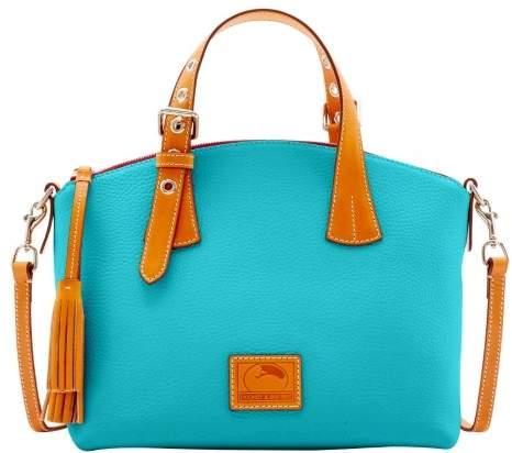 Dooney & Bourke Patterson Leather Trina Satchel - CALYPSO - STYLE