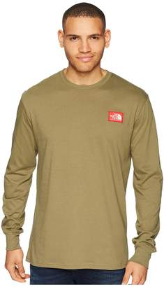 The North Face Long Sleeve Patch Tee Men's T Shirt