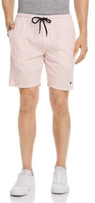 Obey Cypress Seersucker Striped Regular Fit Shorts