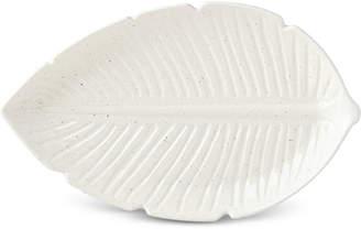 Kate Spade Cannon Street Botanical Accents Large Leaf Platter