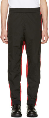 Ambush Black & Red Track Pants $555 thestylecure.com