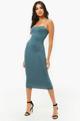 Forever 21 Cami Cutout Dress