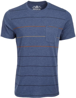 American Rag Men Stripe Pocket T-Shirt