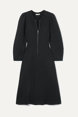 Ulla Johnson Elora Cotton-terry Dress - Black