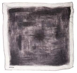 Halston Printed Square Scarf