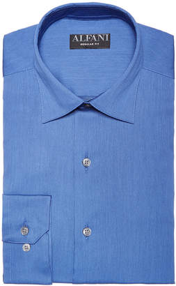 Alfani AlfaTech by Men's Athletic Fit Bedford Cord Dress Shirt