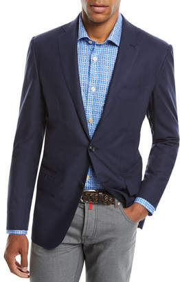 Kiton Men's Two-Button Cashmere Sport Coat
